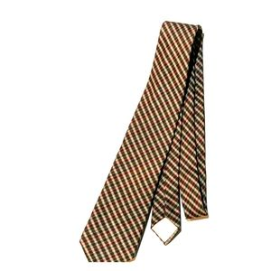 Checkered Christian Dior Tie
